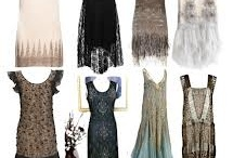 1920's theme Wedding / Hair makeup, clothing and accessories inspiration for 1920s theme wedding or shoot