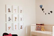 Nursery Decor / Artwork to decorate baby and kids room