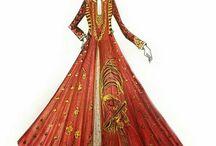 Dresses and kurtis