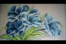 pintura em tecido quadros