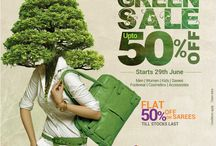 M&M Green sale 2013 / Green sale campaign