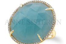 March Birthstone: Aquamarine / by Anne Sisteron Fine Jewelry