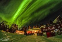 Aurora Borealis / These are more or less roughly processed photos of the northern lights