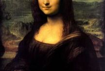 "The Mona Lisa Painting / A collection of Many ""Mona Lisa Paintings"""
