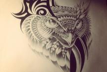 Рисунки татуировок