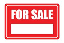 FOR SALES SIGNS / For Sale Signs is a must for any reltor to sell their customers property. If you don't want to waste too much money on For Sale sign Boards this printable real estate for sale signs would save time and money