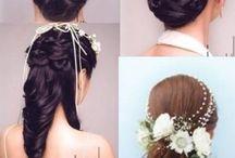 Wedding hair =)