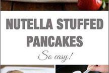 omelette con Nutella