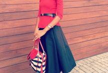 Fashion Scientist / Midi skirt