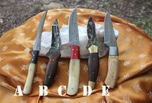 Epic Handmade Knives / The current collection of #D2, #Damascus, and #1080 #highcarbon #steel #knives and #blades offered in our community-run knife shop by donation to our humanitarian works.