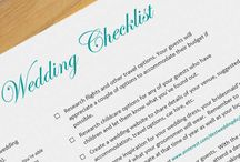 Wedding Checklist / When planning a destination wedding there's lots to do and remember.  The key to making the planning process stress-free and fun is being organised.  Let our checklist do the hard work for you.