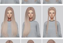 Hairstyle Sims mods