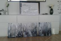 Acrylic paintings ♡ Tanya♡