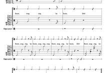 Partituras Body percussion