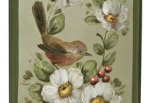 tole & decorative painting / by Debbie Wootten