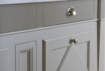 Painted furniture, lovely colours