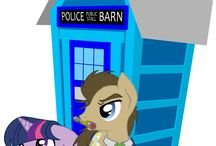 Mlp and Doctor Who ^^