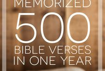 How to memorize scripture verses from the Bible