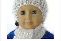 """American Girl Ideas / Crafts and other projects for 18"""" dolls including American Girl dolls"""