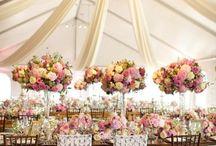 Wedding table centrepieces / Wedding reception centrepieces