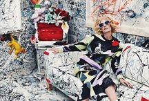 Fashion&Artwork / Fashion takes its cue from Art