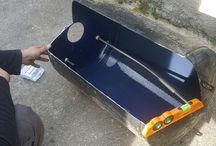 les bricoleurs du dimanche / Barbecue fait à partir d'un ballon d'eau chaude