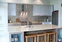 Kitchens - Splashback / The kitchen design is not completed without a nice splashback.