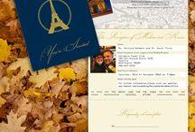 Vanessa & Johnny / Parisian Travel Wedding Theme