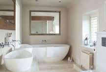 Beautiful Bathrooms / A range of beautiful bathrooms in different styles: modern bathrooms, country bathrooms, rustic bathrooms. Check here for inspiration!