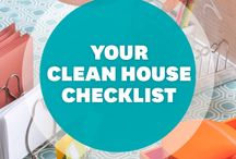 Clean Sweep / Tips for keeping home clean.