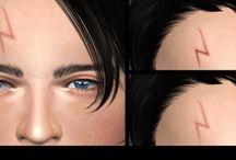 The Sims 4 CC (vlastní obsah) Make Up, doplňky