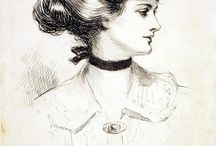 ◇ The Perfection of a Gibson Girl (Ilustrations) ◇