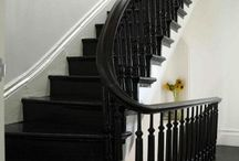 The Beauty of Staircases / Staircase designs and inspirations.