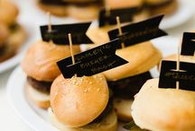 Wedding food / Delicious wedding food that looks too pretty to eat!