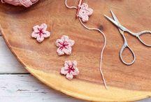 Haken *bloemen & hartjes