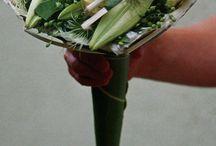 Contemporary bridal bouquets