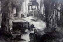 carcoal art