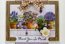 LOTV floral cards that inspire me...
