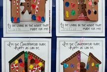 Christmas & gingerbread boy