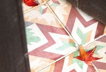 Reclaimed antique Spanish Tiles ( cement / encaustic ) / Reclaimed Spanish cement tiles being used in the home
