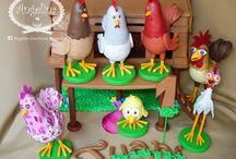 Fiesta gallinero