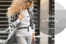 Walk in the City / Fashion Style in Grey Tones by www.think-feel-discover.com