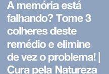 remédios  natureza