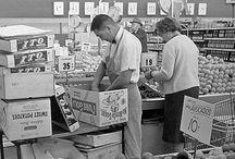 Vintage Produce Departments