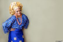 Nigerian Traditional Wedding Dresses & Aso ebi
