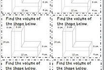 Area, volume and perimeter