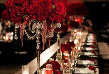 kwiaty i nakrycia ślubne