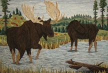 Rug Hooking Animals 2 / by Sylvia Gauthier