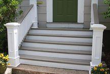 schody wejściowe