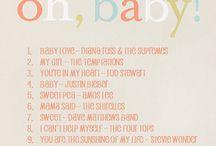Music / Baby shower